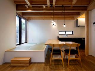 桜本町の家 新築工事 モダンデザインの ダイニング の Echizen Ryouta Design Laboratory モダン