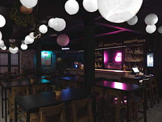 Solvar Bars & clubs Copper/Bronze/Brass Black