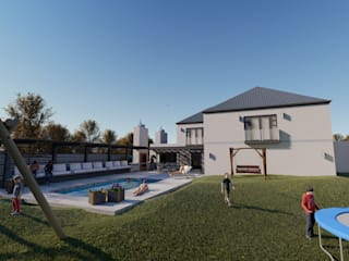 HOUSE FREEMANTLE - DURBANVILLE, CAPE TOWN by BLUE SKY Architecture