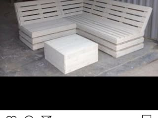 Seating area Pallet furniture uk Garden Furniture Wood Beige