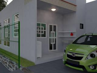 Casa Habitación 98.5 m2 de construcción de iA Soluciones de Ingeniería y Aquitectura