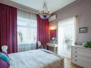 Апартаменты на улице Покровка Спальня в классическом стиле от STUDIO 57 Классический