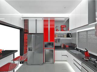 INTERIORES COZINHA Cozinhas modernas por Pedro Ivo Fernandes | Arquiteto e Urbanista Moderno