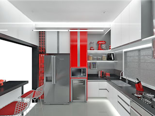 Modern Mutfak Pedro Ivo Fernandes | Arquiteto e Urbanista Modern
