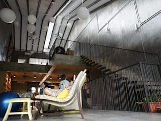 N O T Architecture Sdn Bhd Rustieke woonkamers