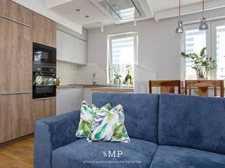 Studio Modelowania Przestrzeni Livings de estilo escandinavo
