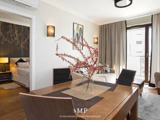 Studio Modelowania Przestrzeni Livings de estilo moderno
