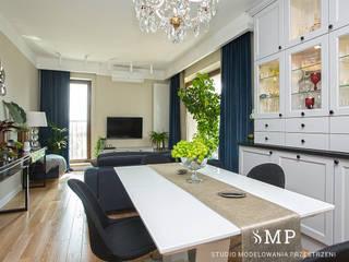 Studio Modelowania Przestrzeni Livings de estilo ecléctico