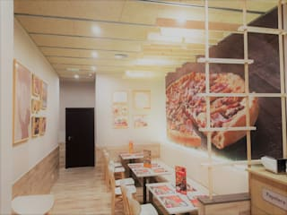 ARDEIN SOLUCIONES S.L. Gastronomy Engineered Wood Wood effect