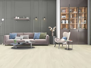Data Mimarlik Modern living room Wood-Plastic Composite Grey