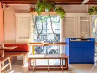 Motín Solvar Gastronomía de estilo moderno Madera Azul