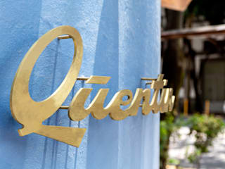 Quentin Panadería Solvar Gastronomía de estilo moderno Concreto Azul