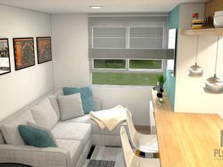 Skandinavische Wohnzimmer von Plano 13 Skandinavisch