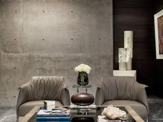 GLR Arquitectos غرفة المعيشة