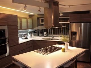 emARTquitectura Arte y Diseño モダンな キッチン