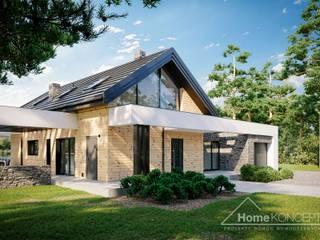 Projekt domu HomeKONCEPT 66 A G1 HomeKONCEPT   Projekty Domów Nowoczesnych