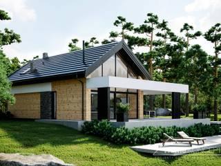 Projekt domu HomeKONCEPT 66 A HomeKONCEPT   Projekty Domów Nowoczesnych