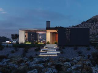 Дом на утесе. Португалия Kerimov Architects Вилла
