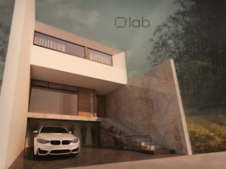 lab arquitectura Rumah Minimalis
