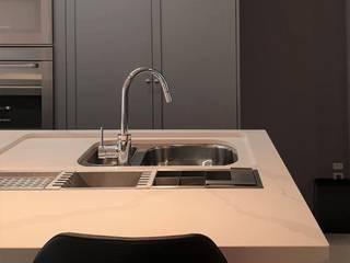 Larissa Minatti Interiores KitchenCabinets & shelves