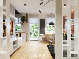 Salas de estilo moderno de CONTECH Architektura Moderno