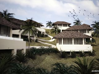 Gratchi's Getaway Redevelopment Concept Master Plan by KDA Design + Architecture Tropical