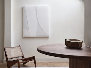 Mokko Salon moderne Bois Beige