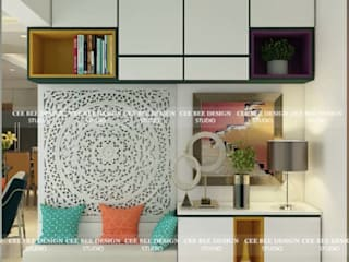 Contemporary Interior Design in Kolkata - 3BHK: country  by Cee Bee Design Studio,Country