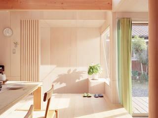 菰野の家 北欧デザインの リビング の a.un 建築設計事務所 北欧