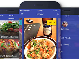 Online food ordering and delivery application by Nextbrain Technologies