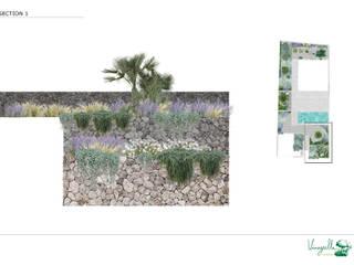 JARDIN UNIFAMILIAR ALCANADA Jardines de estilo mediterráneo de VINAGRELLA Mediterráneo
