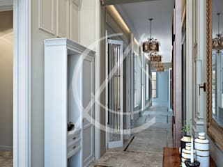 Classic style corridor, hallway and stairs by Comelite Architecture, Structure and Interior Design Classic