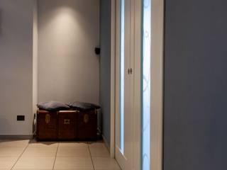 antonio felicetti architettura & interior design Modern living room Concrete White