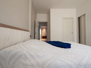 antonio felicetti architettura & interior design Modern style bedroom Wood White