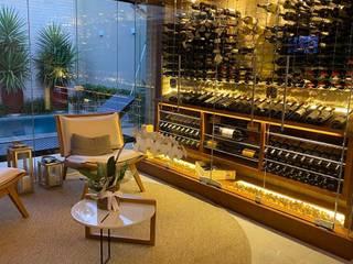 Gibeli Refrigeração Wine cellar Glass Yellow