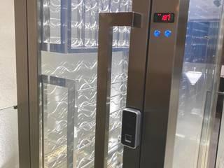 Gibeli Refrigeração Wine cellar Iron/Steel Metallic/Silver