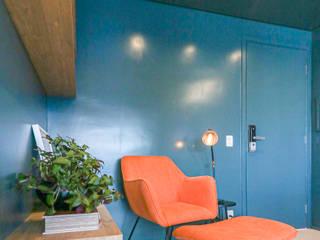 MOOD- Apartamento Vila Olimpia Salas de estar modernas por Estúdio MOOD Moderno