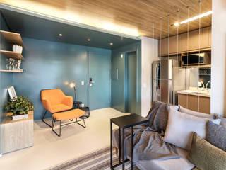 Estúdio MOOD Modern living room