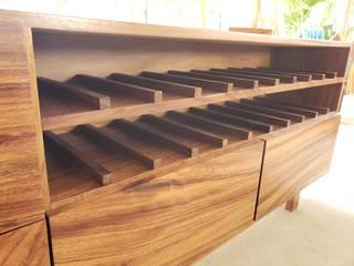 COROTU DISEÑO Y CONSTRUCCION SA DE CV Gospodarstwo domoweAkcesoria i dekoracje Lite drewno O efekcie drewna