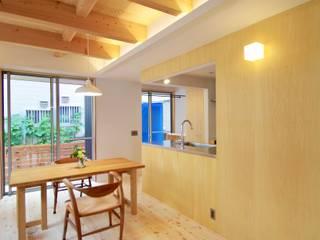 Scandinavian style dining room by K+Yアトリエ一級建築士事務所 Scandinavian