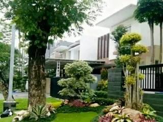 TUKANG TAMAN JAKARTA SELATAN Tukang Taman Jakarta Halaman depan Batu Green