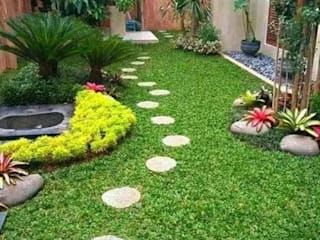 Tukang Taman Jakarta Передний двор Камень Зеленый