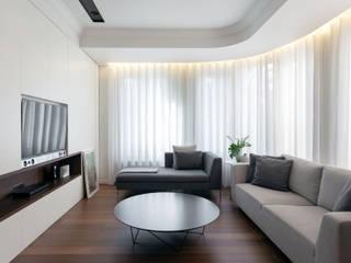 MANUEL GARCÍA ASOCIADOS Modern Oturma Odası Beyaz