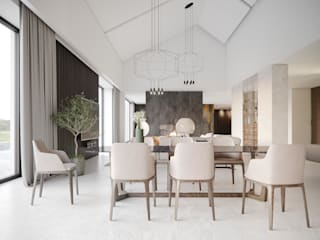 Minimalist dining room by Дизайн - Центр Minimalist