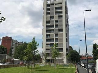 Progetto TORRE MONTEROSA Milano di Edilforniture Moderno