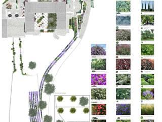 PROYECTO PAISAJISTICO DEIA Jardines de estilo mediterráneo de VINAGRELLA Mediterráneo