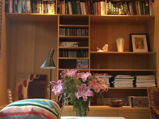 Mabella Artisans Interior Design Ruang Keluarga Gaya Mediteran Kayu