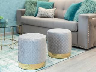 Salones de estilo moderno de Glim - Design de Interiores Moderno