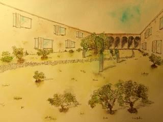 S. in the Garden, jardines de verdad Halaman depan