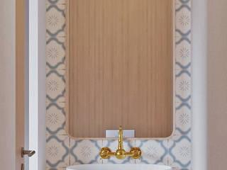 Nordic Style Alpha Details Casas de banho escandinavas